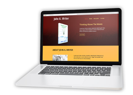 self publish custom website design